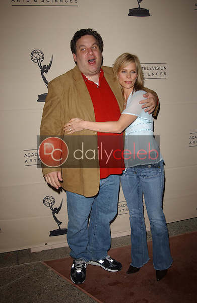 """Jeff Garlin and Cheryl Hines<br /> at the Academy of Television Arts & Sciences Evening with """"Curb Your Enthusiasm,"""" Leonard H. Goldenson Theater, North Hollywood, CA 11-09-05<br /> <br /> David Edwards/DailyCeleb.com 818-249-4998"""