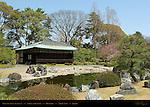 Kountei Koun Teahouse Seiryu-en Garden Honmaru Showa period Nijo Castle Kyoto