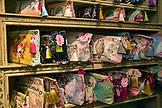 USA, Oregon, Ashland, detail of purses at a store called Papaya Living