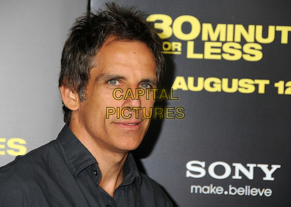 "Ben Stiller.""30 Minutes or Less"" World Premiere held at Grauman's Chinese Theatre, Hollywood, California, USA..August 8th, 2011.headshot portrait grey gray.CAP/ADM/BP.©Byron Purvis/AdMedia/Capital Pictures."