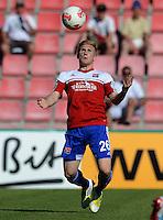 FUSSBALL  DFB POKAL        SAISON 2012/2013 SpVgg Unterchaching - 1. FC Koeln  18.08.2012 Andreas Voglsammer (Unterhaching)
