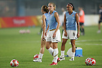 06 August 2008: Lindsay Tarpley (USA).  The women's Olympic team of Norway defeated the United States women's Olympic soccer team 2-0 at Qinhuangdao Olympic Center Stadium in Qinhuangdao, China in a Group G round-robin match in the Women's Olympic Football competition.