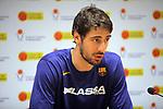 XXXVIII Lliga Nacional Catalana ACB 2017.<br /> FC Barcelona Lassa vs BC Morabanc Andorra: 89-70.<br /> Ante Tomic.