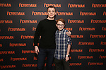 "Jack DiFalco and Michael Quinton McArthur attends the ""The Ferryman"" cast change photo call on January 17, 2019 at the Sardi's in New York City."