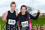 participants who took part in the Kerry's Eye Valentines Weekend 10 mile road race on Sunday were Cindy O'Shea and Sabrina Caffery