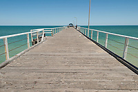 Henley Jetty on a fine day, Adelaide, South Australia.