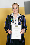 Girls Cycling winner Sarah Gilkison. ASB College Sport Young Sportperson of the Year Awards 2007 held at Eden Park on November 15th, 2007.