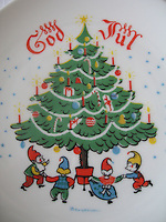 God Jul - Merry Christmas in Swedish
