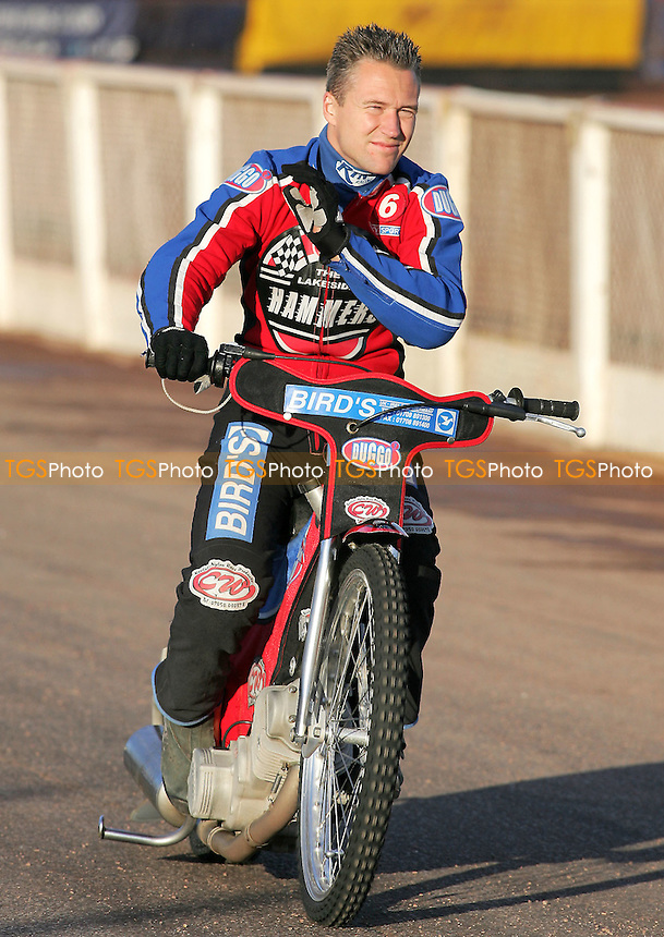 Leigh Lanham of Lakeside - Lakeside Hammers vs Eastbourne Eagles - Elite League Speedway at Arena Essex - 15/06/07 - MANDATORY CREDIT: Gavin Ellis/TGSPHOTO - SELF-BILLING APPLIES WHERE APPROPRIATE. NO UNPAID USE -  Tel: 0845 0946026