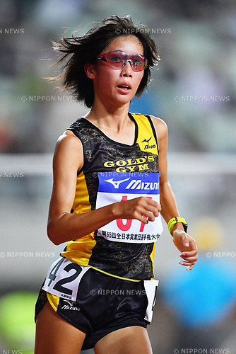 &aelig;&uml;&copy;&dagger;/Sae Matsumoto, <br /> SEPTEMBER 23, 2017 - Athletics : <br /> The 65th All Japan Industrial Athletics Championship <br /> Women's 10000m Race Walk <br /> at Yanmar Stadium Nagai, Osaka, Japan. <br /> (Photo by MATSUO.K/AFLO)
