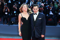 Actor Johnny Depp and his wife, actress Amber Heard, attend the red carpet for the movie 'Black Mass' during 72nd Venice Film Festival at the Palazzo Del Cinema in Venice, Italy, September 4, 2015. <br /> UPDATE IMAGES PRESS/Stephen Richie