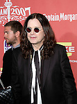Ozzy Osbourne at Spike TV's 'Scream 2007' held at The Greek Theatre on October 19, 2007 in Los Angeles, California