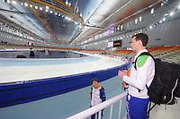 SPEEDSKATING: SOCHI: Adler Arena, 21-03-2013, Training, Stefan Groothuis (NED), © Martin de Jong