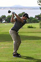Action on the 16th tee during the Pro-Am of the Challenge Tour Grand Final 2019 at Club de Golf Alcanada, Port d'Alcúdia, Mallorca, Spain on Wednesday 6th November 2019.<br /> Picture:  Thos Caffrey / Golffile<br /> <br /> All photo usage must carry mandatory copyright credit (© Golffile | Thos Caffrey)