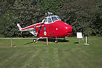 Westland Whirlwind HAR 10 helicopter Norfolk  Suffolk aviation museum Flixton Bungay England.