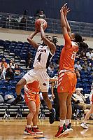 SAN ANTONIO, TX - DECEMBER 8, 2019: The Sam Houston State University Bearkats defeat the University of Texas at San Antonio Roadrunners 81-77 at the Historic UTSA Convocation Center. (Photo by Jeff Huehn)