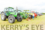Vintage tractors on display at the Abbeydorney Vintage Family fun day on Sunday.
