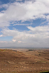 "The Golan Heights. The ""Valley of Tears"" site of a fierce battle in the Yom Kippur war"