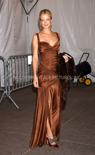 WWW.ACEPIXS.COM . . . . . ....NEW YORK, MAY 2, 2005....Carolyn Murphy exiting The Costume Institute Gala Celebrating Chanel at the Metropolitan Museum of Art.....Please byline: KRISTIN CALLAHAN - ACE PICTURES.. . . . . . ..Ace Pictures, Inc:  ..Craig Ashby (212) 243-8787..e-mail: picturedesk@acepixs.com..web: http://www.acepixs.com