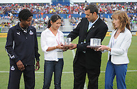 Remembering the 1999 World Cup team from  General Manager and President Mark Washo and Maureen Hendricks Chairwoman.  The LA Sol defeated the Washington Freedom 1-0 at the Maryland Soccerplex, Sunday July 5, 2009.