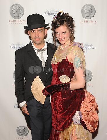 New York,NY-JUNE 02: David Rose, Nina Rose attends Lapham's Quarterly Decades Ball: The 1870s at Gotham Hall In New York City on June 2, 2014. Credit: John Palmer/MediaPunch