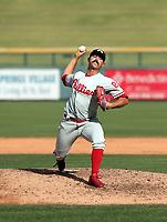 Trevor Bettencourt - Glendale Desert Dogs - 2017 Arizona Fall League (Bill Mitchell)