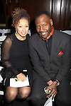 As The Word Turns' Tamara Tunie poses with husband Gregory Generet at B Michael America Couture Collection - Fall/Winter collection (Fashion Show) on February 16, 2011 at the Plaza Hotel, New York City, New York. (Photo by Sue Coflin/Max Photos)