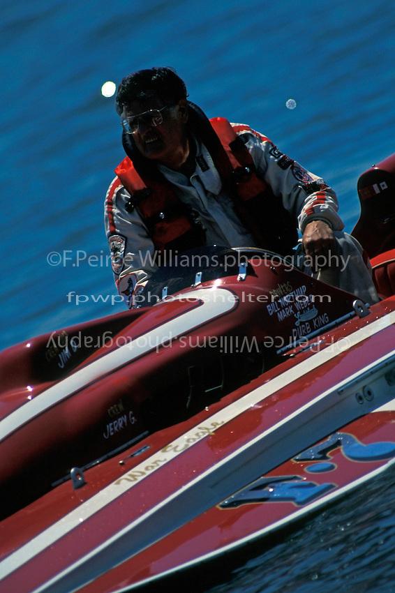 "Bill Northup, F-7 ""War Eagle""  (6 Litre hydroplane) Detroit 1995"