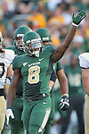 Baylor Bears cornerback K.J. Morton (8)in action during the game between the Wofford Terriers and the Baylor Bears at the Floyd Casey Stadium in Waco, Texas. Baylor leads Woffard 38 to 0 at halftime.