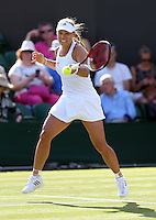 ANGELIQUE KERBER (GER)<br /> <br /> The Championships Wimbledon 2014 - The All England Lawn Tennis Club -  London - UK -  ATP - ITF - WTA-2014  - Grand Slam - Great Britain -  24th. June 2014. <br /> <br /> © J.Hasenkopf / Tennis Photo Network