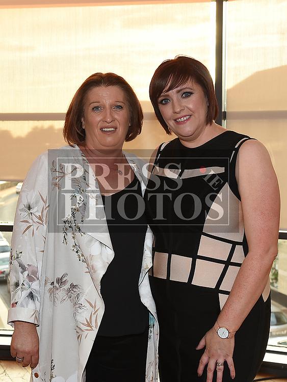 Sabrina Burke celebrating her 40th birthday in Brú with best friend Sharon O'Neill. Photo:Colin Bell/pressphotos.ie