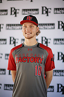 Dylan Rogers (10) of Dorman High School in Spartanburg, South Carolina during the Baseball Factory All-America Pre-Season Tournament, powered by Under Armour, on January 12, 2018 at Sloan Park Complex in Mesa, Arizona.  (Zachary Lucy/Four Seam Images)