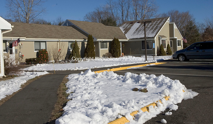 SOUTHBURY, CT. 18 January 2013-011813SV02-Grace Meadows is an 88-unit complex that was started in 1984 and is full, with a three or four-year waiting list, in Southbury Friday. Two lawmakers have proposed a bill to have the state transfer 45 acres at Southbury Training School to Southbury to build subsidized housing for the elderly.  .Steven Valenti Republican-American