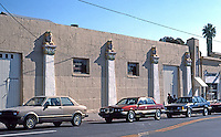 San Diego: Egyptian Garage at Euclid Avenue. (Photo '90)