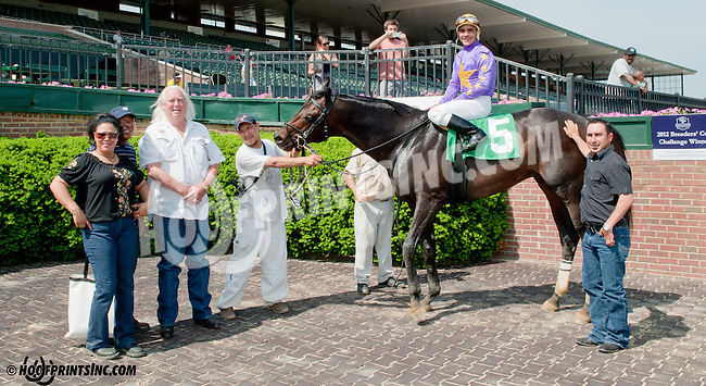 Speighter Man winning at Delaware Park on 5/22/13