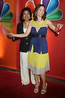 Phylicia Rashad and Alana De La Garza at NBC's Upfront Presentation at Radio City Music Hall on May 14, 2012 in New York City. ©RW/MediaPunch Inc.