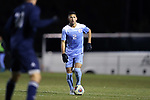CARY, NC - NOVEMBER 19: North Carolina's Mauricio Pineda. The University of North Carolina Tar Heels hosted the UNCW Seahawks on November 19, 2017 at Koka Booth Stadium in Cary, NC in an NCAA Division I Men's Soccer Tournament Second Round game. UNC won the game 2-1.