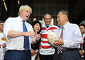 Boris Johnson in Tokyo