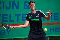 Simpeled, Netherlands, 19 June, 2016, Tennis, Playoffs Eredivisie Men, Wesley Visser team Papendal<br /> Photo: Henk Koster/tennisimages.com