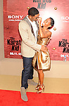 "WESTWOOD, CA. - June 07: Will Smith and Jada Pinkett Smith arrive at ""The Karate Kid"" Los Angeles Premiere at Mann Village Theatre on June 7, 2010 in Westwood, California."