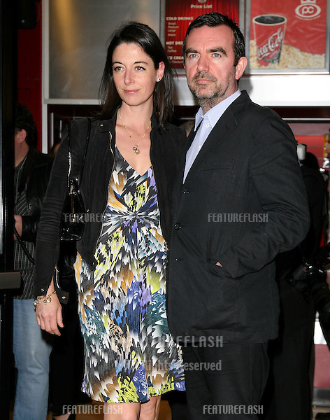 Mary McCartney and Simon Aboud arriving for the 'Boogie Woogie' Premiere at The Prince Charles Cinema, Leicester Square, London. 13/04/2010  Picture by:  Alexandra Glen / Featureflash