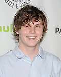 BEVERLY HILLS, CA - MARCH 15: Evan Peters arrives at the 30th Annual PaleyFest: The William S. Paley Television Festival - Closing Night Presentation honoring 'American Horror Story' at the Saban Theatre on March 15, 2013 in Beverly Hills, California.