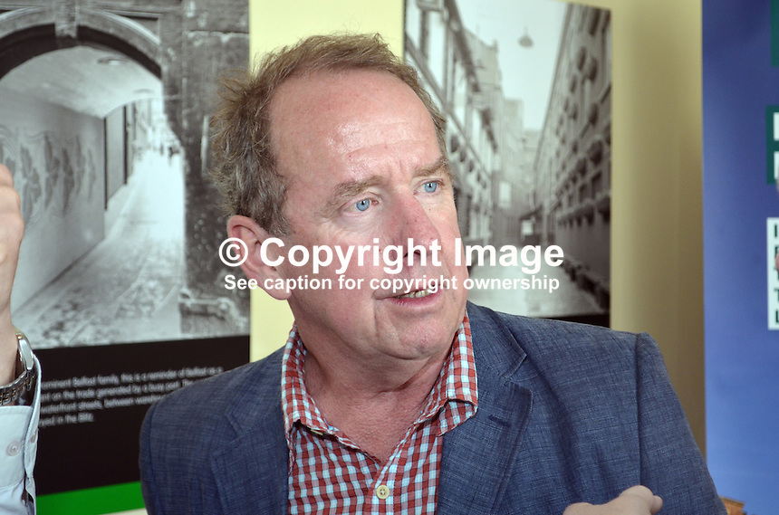Robert J Savage, the author of &quot;The BBC's Irish Troubles&quot; at the launch of his book in Belfast, N Ireland, 4th June 2014. Savage, the author of a number of Irish-themed publications, is Professor of the Practice of History  at Boston College, Massachusetts, USA. 201506043916<br /> <br /> Copyright Image from Victor Patterson, 54 Dorchester Park, Belfast, UK, BT9 6RJ<br /> <br /> t1: +44 28 9066 1296<br /> t2: +44 28 9002 2446<br /> m: +44 7802 353836<br /> <br /> e1: victorpatterson@me.com<br /> e2: victorpatterson@gmail.com<br /> <br /> IMPORTANT: My Terms and Conditions of Business are at www.victorpatterson.com