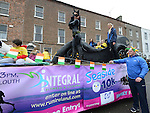 Integral Gym pictured at the Drogheda St Patrick's day parade. Photo:Colin Bell/pressphotos.ie