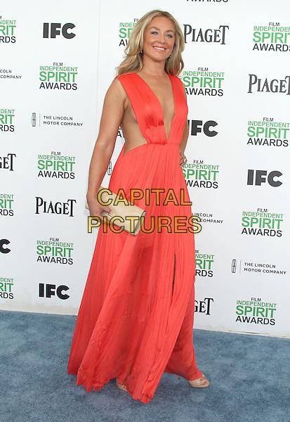 1 March 2014 - Santa Monica, California - Elisabeth Rohm. 2014 Film Independent Spirit Awards held at Santa Monica Beach. <br /> CAP/ADM/RE<br /> &copy;Russ Elliot/AdMedia/Capital Pictures
