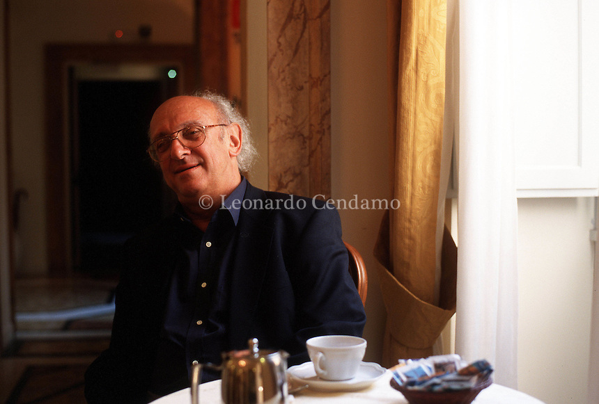 MAY 2000: PETROS MARKARIS, WRITER © Leonardo Cendamo