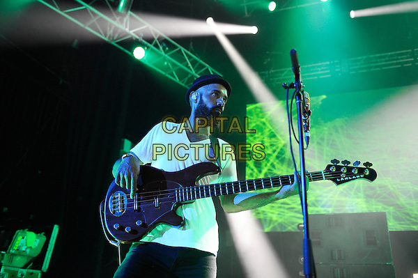 LONDON, ENGLAND - JUNE 16: Ben Kenney of 'Incubus' performing at Eventim Apollo on June 16, 2015 in London, England.<br /> CAP/MAR<br /> &copy; Martin Harris/Capital Pictures