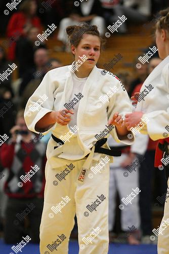 2010-02-14 / Judo / VK Judo Herentals / Charlotte Temmerman..Foto: mpics