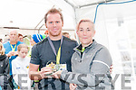 Listowel Endurance Fetival: Sean Moynihan, Tralee who finished 3rd in the 3 hour test receiving his trophy from Tina Griffin.