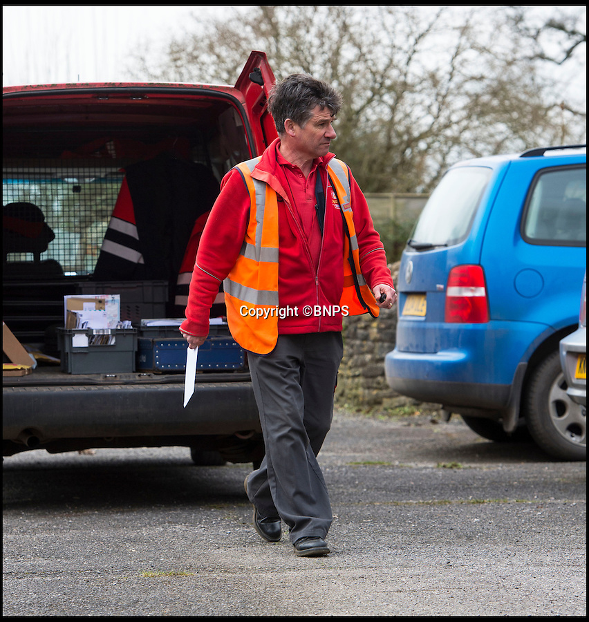 BNPS.co.uk (01202 558833)<br /> Pic: PhilYeomans/BNPS<br /> <br /> Mick Leak's postal round has been saved by the local people of Chetnole, Dorset.<br /> <br /> A much-loved village postman who faced losing his round has been reinstated after the locals he served for 24 years staged a vociferous campaign to save his job.